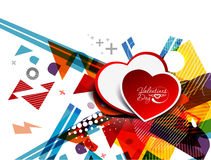 Hearts design illustration Stock Photo