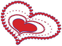 Hearts design vector Royalty Free Stock Photo