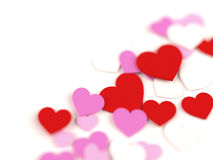 Hearts dof Royalty Free Stock Photo