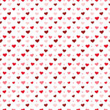 Hearts and dots Royalty Free Stock Photography