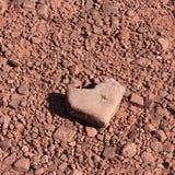 Hearts are everywhere!. Hearts are everywhere. Arizona desert. Red rocks stock photography