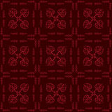 Hearts Floral Seamless Pattern Royalty Free Stock Photography