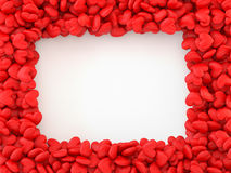 Hearts Frame Royalty Free Stock Images