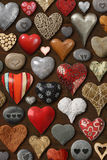 Hearts galore Royalty Free Stock Images