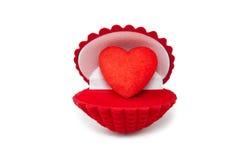 Hearts&gift配件箱5 库存照片