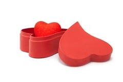 Hearts&gift box-3 Стоковая Фотография RF