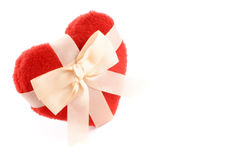 Hearts gift Royalty Free Stock Images