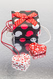 Hearts and gifts Royalty Free Stock Images