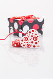 Hearts and gifts Royalty Free Stock Image