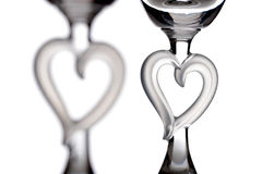Hearts of glass Stock Image