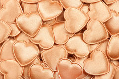 Hearts of gold Stock Photography