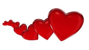 Hearts Growing Horizontal