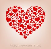 Hearts, Happy Valentine's Day Royalty Free Stock Image