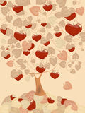 Hearts harvest Stock Photography