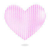 3D halftone heart of hearts vector. For valentines day. album amour art backdrop background booklet box card celebrate celebration color concept couple day vector illustration