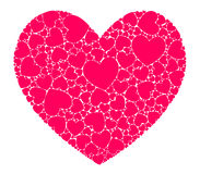 Hearts in heart Royalty Free Stock Photo
