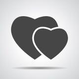 Hearts icon Stock Photo