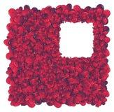 Hearts invasion frame. Valentine card. Ideal hearts frame for valentines day portrait vector illustration
