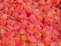 Hearts jellies. Background of candy/jellies hearts stock photos