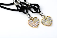 Hearts jewelery Stock Photos