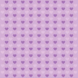 Hearts lilac pattern. Stock Photos