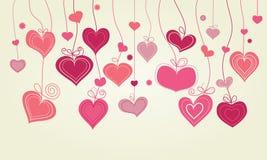 Hearts line Stock Photo