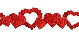 Hearts line decoration Royalty Free Stock Photos
