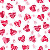Hearts a lot Royalty Free Stock Images