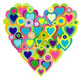 Hearts of love Royalty Free Stock Images