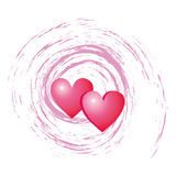 Hearts love stock images