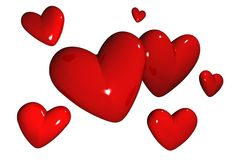 Hearts / Love Royalty Free Stock Images