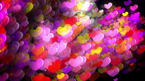 Hearts of Love stock footage