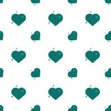 Hearts Of Love Amour Seamless Pattern Stock Photography