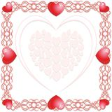 Hearts Love Background Stock Photo