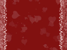 Hearts Love Background royalty free illustration