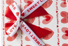 Hearts and love box Royalty Free Stock Photography