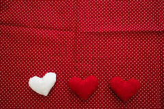 Hearts made with hands Royalty Free Stock Photo