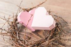 Hearts nest Royalty Free Stock Photo