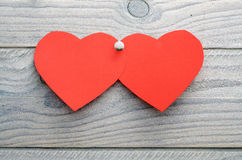 Hearts of paper Royalty Free Stock Photography