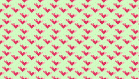 Hearts pattern Stock Photography