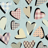 Hearts pattern Royalty Free Stock Images