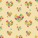 Hearts pattern Royalty Free Stock Photo
