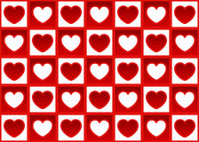 Hearts pattern. Royalty Free Stock Images