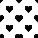 Hearts pattern vector illustration