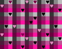 Hearts pattern Stock Images