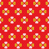 Hearts Pattern Royalty Free Stock Image