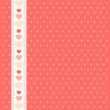 Hearts pattern 3 Stock Photos