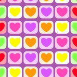 Hearts pattern icon colorful.