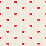 Hearts Pattern Stock Photo