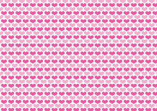 Hearts pattern. Sweet heart, pink hearts, background, vector design Royalty Free Stock Photos